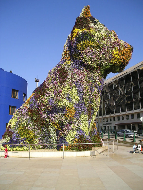 Jeff Koons, Puppy, 1992