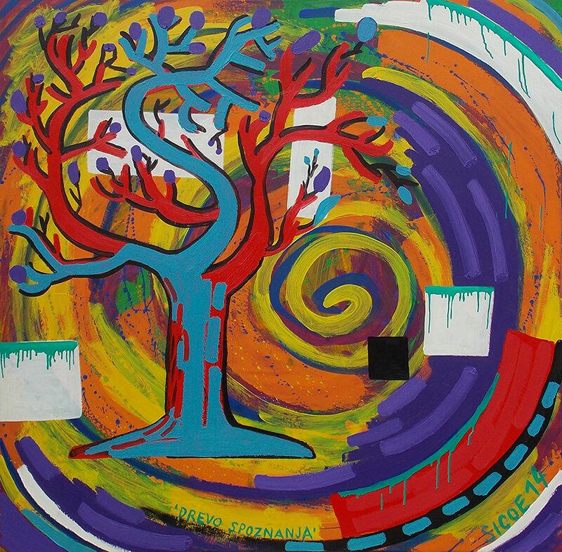 Silvester Plotajs – Sicoe: Drevo spoznanja, 2014